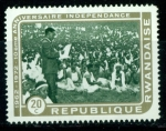 Stamps Africa - Rwanda -  Aniv.Independencia