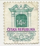 Stamps : Europe : Czech_Republic :  Estilo Barroco