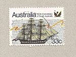 Stamps Australia -  150 Aniv. del sur de Australia
