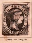 Stamps Europe - Spain -  Isabel II Ed 1851