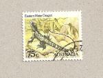 Stamps Australia -  Dragón de agua del este