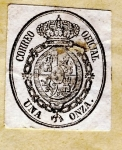Stamps Europe - Spain -  Correo Oficial Ed 1856