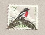 Stamps Australia -  Gorrión escarlata