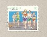 Stamps Australia -  Carrera de placer