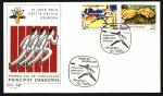 Stamps Andorra -  IV Juegos de los pequeños estados de Europa - SPD