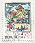 Stamps : Europe : Czech_Republic :  Navidad