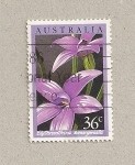 Stamps Australia -  FlorElythranthera  emarginata