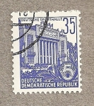 Stamps Germany -  Palacio de Deportes