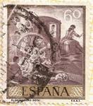 """Stamps : Europe : Spain :  """"El Cacharrero"""" - Goya"""