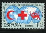 Sellos de Europa - España -  Liga se Sociedades de la Cruz Roja