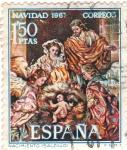 Stamps Spain -  Nacimiento (salcillo)