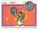 Stamps Cuba -  XI JUEGOS CENTROAMERICANOS