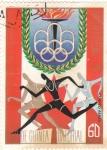 Stamps Equatorial Guinea -  XI JUEGOS OLIMPICOS