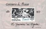 Sellos de Europa - España -  CENTENARIO DE PICASSO