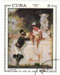 Stamps Cuba -  OBRAS DEL MUSEO NACIONAL DE CUBA