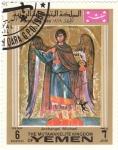 Stamps Yemen -  AECANGEL MIGUEL