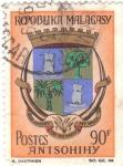 Stamps : Africa : Madagascar :  ESCUDO