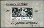 Sellos del Mundo : Europa : España : El Guernica de PIcasso