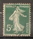 Sellos de Europa - Francia -  Sembradora (fondo lleno)