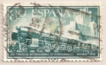 Stamps Spain -  Ferrocarriles