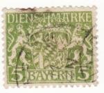 Sellos de Europa - Alemania -  Baryern Ed 1916