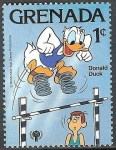 Stamps America - Netherlands Antilles -  Donal Duck