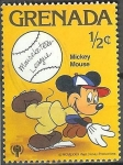 Stamps America - Netherlands Antilles -  Mickey Mouse