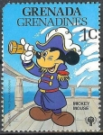 Stamps America - Netherlands Antilles -  Mickey Mouse Pirata