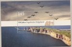 Stamps Germany -  100 Aniv. posadero aves en Helgoland