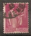 Sellos de Europa - Francia -  Tipo Paix
