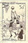 Stamps Europe - France -  Basket-ball