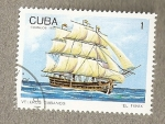 Stamps of the world : Cuba :  Veleros cubanos