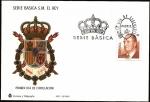 Stamps Spain -  Serie Básica de S.M.  el Rey  2001 -  SPD