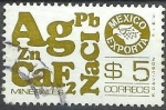 Sellos de America - México -  Minerales