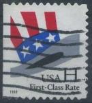 Sellos de America - Estados Unidos -  Tasa de primera clase