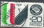 Stamps Mexico -  Cine