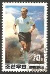 Sellos del Mundo : Asia : Corea_del_norte : 2130 - Karl Heinz Rummenigge, futbolista