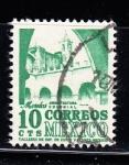 Sellos del Mundo : America : México : Arquitectura colonial - Morelos
