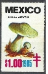 Stamps Mexico -  Russula virescens