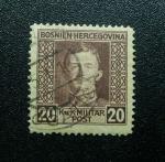 Stamps Europe - Bosnia Herzegovina -  Emperador Karl I