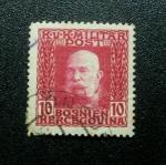 Stamps Europe - Bosnia Herzegovina -  Emperador Franz Jossef