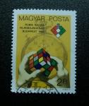 Sellos de Europa - Hungría -  Cubo Rubik