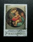Stamps Hungary -  Obra Raffaello Santi
