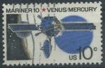 Sellos del Mundo : America : Estados_Unidos :  Mariner 10 - Venus-Mercurio