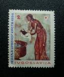Stamps Yugoslavia -  Cruz Roja