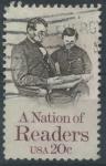 Sellos del Mundo : America : Estados_Unidos :  Una nación de lectores