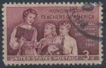 Sellos del Mundo : America : Estados_Unidos :  Honrar a los Maestros de América (1857-1957)