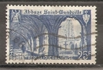 Sellos del Mundo : Europa : Francia : Abadía de Saint Wandrille