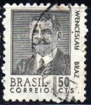 Sellos de America - Brasil -  Wenceslau Braz