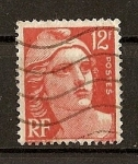 Stamps France -  Marianne - Tipografiado.